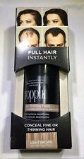TOPPIK Hair Building Fibers Treatment 12g/.42Oz Full Hair Instantly Lt. Brown