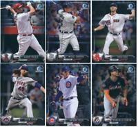 2017 Bowman Chrome Baseball - Base Set Cards - Choose From Card #'s 1-100
