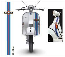 Kit MARTINI Vespa scooter auto moto Striscia scudo Stickers Racing stickers PX