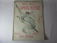 New Idea Woman's Magazine May 1901