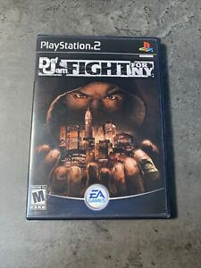 Def Jam: Fight for NY ps2  Box & Artwork ONLY! NO GAME! Black label, authentic