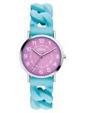 s.Oliver Uhr Damenuhr Silikon Blau SO-3427-PQ