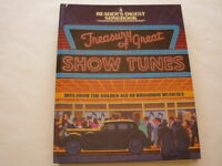 SHEET MUSIC: Treasury of Great SHOW TUNES. Hits From The Golden Age of Broadway