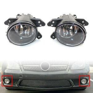 1Pair Car Front Bumper Fog Light With Bulb Fits Mercedes Benz W219 07-10