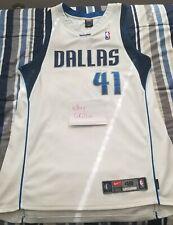 Nike Dirk Nowitzki Authentic Home Jersey Dallas Mavericks Size 48 XL NBA Mavs Sz
