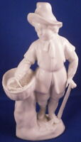 20thC Augarten Wien Vienna Porcelain Eel Seller Figure Figurine Porzellan Figur