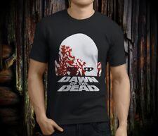 New Popular Dawn of the Dead Horror Movie Men's Black T-shirt Size S-3XL