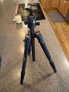 Vanguard VEO 2 235AB 5 Section Aluminum Tripod with VEO 2 BH-50 Ball Head, Black