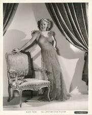 ALICE FAYE Stunning Vintage 1936 GENE KORNMAN Fox Studio FASHION Portrait Photo