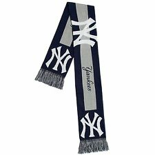 New York Yankees Acrylic Scarf - Big Logo Design [NEW] Neck Winter Scarve Hat