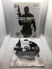 Call of Duty Modern Warfare 3 - Complete CIB -Nintendo Wii