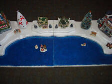 4 FT Christmas Village Display Base Platform J14 Dept 56 Lemax Dickens CIC