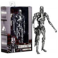 "NECA Terminator 2 Judgment Day T-800 Endoskeleton Arnold 7"" PVC Action Figure @@"