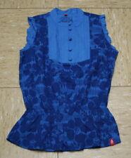 edc by Esprit Bluse Hemd Fancy blau Gr.176 NEU