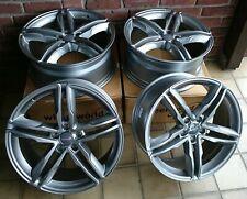 Llantas de aluminio 4x wh11 7,5x17 pulgadas 5x112 et28 Daytona gris audi a4 a5 a6 a7 a8 q3 q5