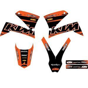 Dekor Aufkleber Stickerset für KTM LC4 Modelle ab 1999