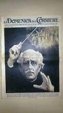 La Domenica del Corriere 27 gennaio 1957 Toscanini - Enzo Tortora - Mozart