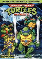 Teenage Mutant Ninja Turtles Season 3 (4-Disc DVD Set) NEW