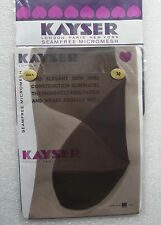 Kayser Bri-Nylon ladies' stockings size 10 Vintage 1960s seamfree micromesh COLA