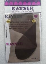 Kayser Bri-Nylon ladies' stockings size 10 Vintage 1960s seamfree micromesh COLA