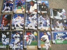 1998 Yankees World Series Team Upper Deck 15 jumbo card set Jeter Mariano Rivera
