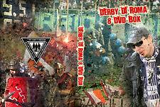 COFANETTO 11 DVD DERBY DELLA CAPITALE,ROMA-LAZIO (AS ROMA,ULTRAS,IRRIDUCIBILI)