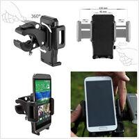 Universal Motorcycle Bike Handlebar Mount Holder Adjustable For Cell Phone GPS
