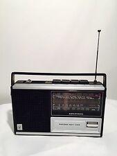 RADIO Portatile Vintage GRUNDIG RECORD BOY 1100 ANNI 70 Funzionante (OM/FM)