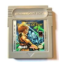 **Wizards & Warriors X Fortress of Fear Original Nintendo Gameboy Game TESTED**