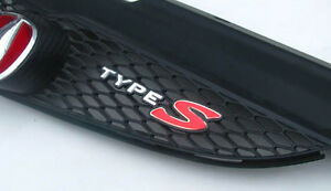 05-06 style TYPE-S FRONT EMBLEM ACURA RSX DC5 / HONDA INTEGRA JDM / Custom made