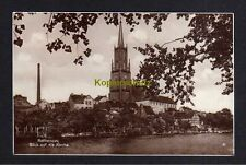 113911 AK Rathenow 1928 Blick auf die Kirche Fotokarte