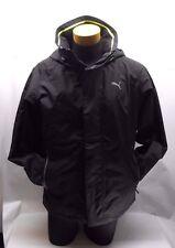 Puma Outdoor Jacket Parka Hooded Full Zip Black Volt Storm Cell Mens Size S NEW!