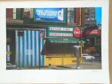 JOHN BAEDER HAND SIGNED LAN TING CHINESE KITCHEN COCA COLA 31 1/2 x 24