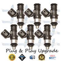 Set 6 OEM Fuel Injectors EV1 Upgrade 7 Hole GM Rochester 17103007 9826 3.1L 3.4L