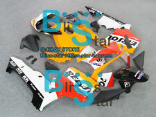 Decals Gloss INJECTION Fairing Bodywork Kit HONDA CBR600RR 2003-2004 99 U3