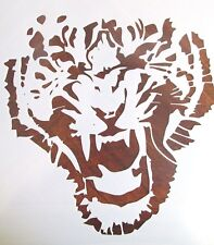 Growling Tiger Stencil Template Reusable 10 mil Mylar