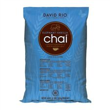 David Rio Elephant Vanilla Chai, Bulk,  4lb. Bag, New.