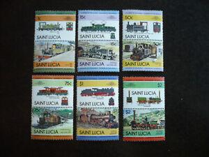 Stamps - Saint Lucia - Scott# 674-679