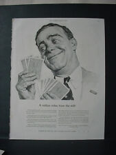 1943 US Playing Card Comp Bicycle + Congress Playing Cards VTG Print Ad 10896