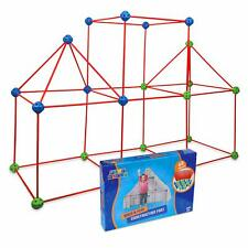 Play Build Construction Fort and Tent for Kids, Building Toys Indoor and
