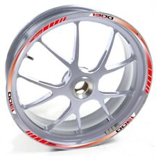 NLEN Sticker wheel Rim BMW silver K 1300 GT Red strip tape vinyl adhesive