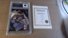 "Sarah Michelle Gellar Lingerie Card ""Buffy"" With Cert Rare"