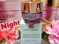 Estee Lauder Resilience Lift☾Night☽Lifting/Firming Creme◆.17oz/5mL◆☾H/*22% OUT*☽