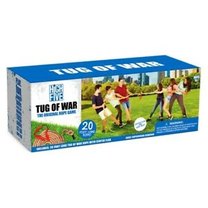 Tug of war rope game w/ 20ft rope- NEW - Great outdoor fun for summertime :)