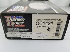 NIB! WAGNER THERMO QUIET Front Brake Pads 2014-2015 Chevrolet Impala QC1421 Car