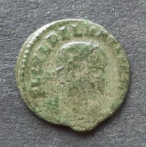 Roman bronze coins. Delmatius Caesar (335-337)