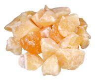 Orangencalcit 1000 gr Wassersteine Rohsteine Steinewasser Edelsteine Heilstein