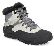 Merrell Women's Aurora 6 Ice+ Waterproof Leather Winter Hiking Boots ASH Size 7