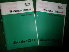 AUDI 100 ELECTRICAL SYSTEMS & CURRENT FLOW OEM FACTORY WORKSHOP MANUAL 1976-81>