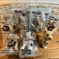 Lot Of 6 Taco Bell Dogs And 2002 Chick-fil-A Cow Lot